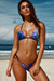 Fantasy & Black Classic Bikini Top & Palm Beach Fantasy & Black Classic Thong Bikini Bottom
