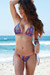 Acapulco Bohemian Print Cheeky Micro Scrunch Bottoms & Triangle Top Bikini