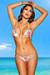 Belize Reversible Swimwear Mint & Retro Floral Print Sexy Single Rise Bikini
