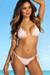 Laguna Blush & White Centered Lace Bikini Top & Panama Blush & White Single Edge Lace Bikini Bottom