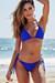 Laguna Royal Blue Classic Bikini Top & Panama Royal Blue Classic Bikini Bottom