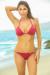 Oahu Bikini on a Chain™ Burgundy Triangle Top & Single Rise Scrunch Bottom
