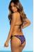 Aztec & Black Classic Bikini Top & Panama Aztec & Black Classic Single Rise Scrunch Bikini Bottom