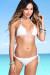 Solid White Triangle Top & Classic Scrunch Bun® Bikini