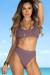 Dusty Lilac Morning Glory Bikini Top & Dusty Lilac Ambrosia Bikini Bottoms