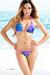 Tahiti Reversible Neon Pink & Fantasy Abstract Print Sexy Micro Bikini Swimsuit