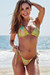 Jamaica Citrus Palm Classic Bikini Top & Acapulco Citrus Palm Classic Bikini Bottom