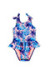 Bella South Beach Palm Print Baby/Toddler One Piece Swimsuit
