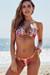 Vegas Gold & Fuchsia Sequin Classic Bikini Top & Panama Gold & Fuchsia Sequin Classic Bikini Bottom