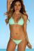 Mint Bikini on a Chain™ Bikini Top & Venice Bikini on a Chain™ Micro Scrunch Bikini Bottom