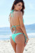 Acapulco Mint Cheeky Micro Scrunch Bun® Bottoms & Triangle Top Bikini