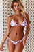 Pink Flamingo Triangle Top & Pink Flamingo Full Coverage Scrunch Bottom