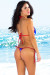 Ipanema Red, White & Blue Star Print Triangle Bikini Top & Sexy Thong Bikini