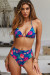 Royal Paradise Triangle Top & Royal Paradise Full Coverage High Waist Bottom
