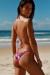 Laguna Pink Hibiscus Triangle Top & Panama Pink Hibiscus Classic Bikini Bottoms