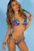 Laguna Royal Paradise Classic Bikini Top & Venice Royal Paradise Mid Rise Classic Bikini Bottoms