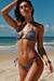 Laguna Navy Animal Classic Bikini Top & Venice Navy Animal Mid Rise Classic