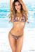 Belize Reversible Swimwear Olive Green & Versache Print Sexy Single Rise Bikini