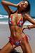 Laguna Palm Hibiscus & Red Classic Bikini Top & Panama Palm Hibiscus & Red Classic Bikini Bottom