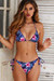 Midnight Hibiscus Triangle Top & Midnight Hibiscus Full Coverage Scrunch Bottom