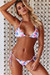Pink Flamingo Triangle Top & Pink Flamingo Classic Scrunch Bottom