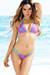 Tahiti Reversible Aqua & Fuchsia Lace Sexy Micro Bikini Swimsuit