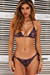 Bronze Tiger Triangle Top & Bronze Tiger Full Coverage Scrunch Bottom