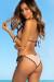 Blush & Black Polka Dots Triangle Top & Classic Scrunch Bikini Bottom