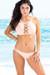 Cassia Blush Lattice Cut Out High Neck Halter Bikini Set