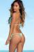 Palm Beach Sexy Solid Mint Triangle Top Thong String Bikini