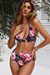Rose Garden Adjustable Halter Top & Rose Garden Full Coverage High Waist Bottom