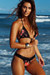 Laguna Single Edge Lace Black Rose & Black Bikini Top & Maui Lace Band Black Rose & Black Scrunch Bikini Bottom