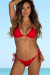 Freedom Red Bikini Top & Freedom Red Classic Bikini Bottom