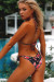 Laguna Black Rose Classic Bikini Top & Panama Black Rose Classic Bikini Bottom