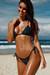 Laguna Hunter Green Classic Bikini Top & Venice Hunter Green Mid Rise Classic Bikini Bottom