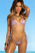 70s Paisley Bikini Top & Palm Beach 70s Paisley Thong Bikini Bottom