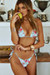 Laguna English Rose Classic Bikini Top & Venice English Rose Mid Rise Classic Bikini Bottom