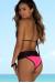 Guava & Black Maui Bikini Top & Maui Bikini Bottom