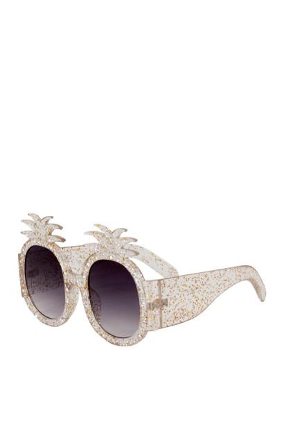 Summer Lovin' Clear Pineapple Sunglasses