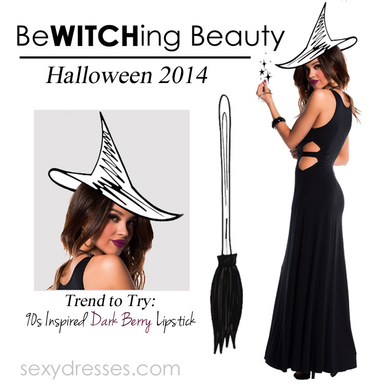 Bewitching Beauty: Sexy Witch Dress DIY Halloween Costume 2014 ...